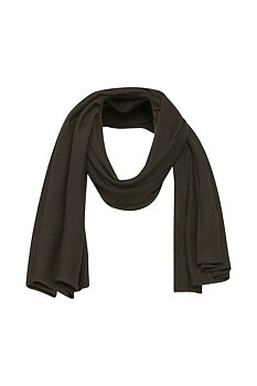 Saint Tropez Mila Scarf Chocolate Brown