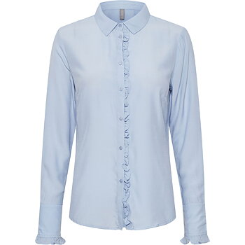 Culture Jeanelle Shirt Cashmere Blue