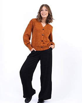 Capri Collection Gemini Cardigan Dark Saffron