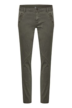 Culture Alba Pants Olive Night