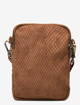 Pipol's Bazaar Triple Zip Bag Impress Brown
