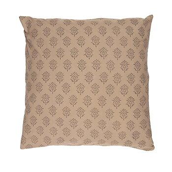 Kuddfodral milky brown 50x50cm -Ib Laursen