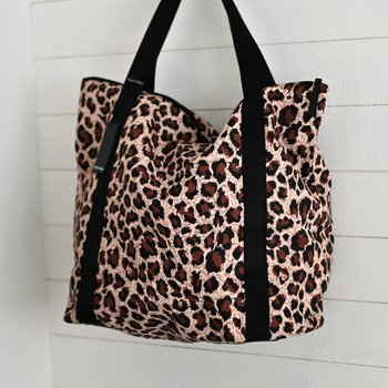 ALLY Shopper Bag Leo - Black Colour