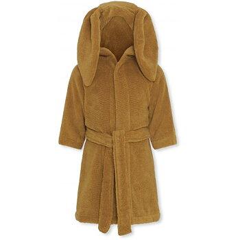 Badrock för barn med luva och kaninöron
