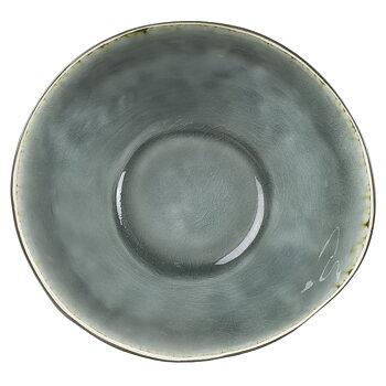 Skål grå krackelerad