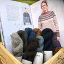 Garn- och bokpaket Austasjöen tröja av Erika Åberg