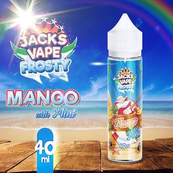 Jacks Vape / Mango Mint 40ml
