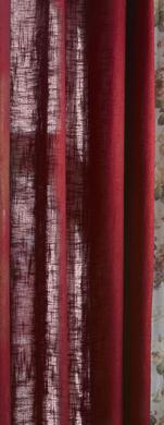 Enfärgad gardin  med linnestruktur från Boel&Jan