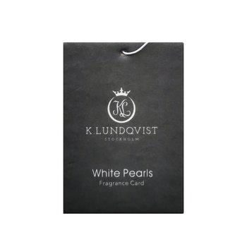 Bildoft/ garderobsdoft  - White Pearls (nytvättat)