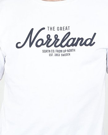 The Great Norrland Vit T-Shirt