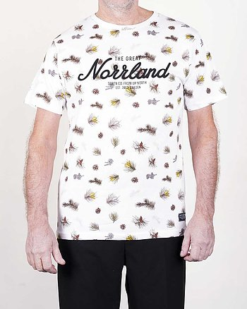 The Great Norrland Branch Vit T-Shirt