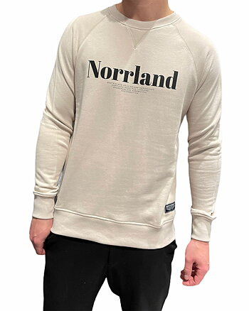 Landscape Norrland Sand Sweatshirt