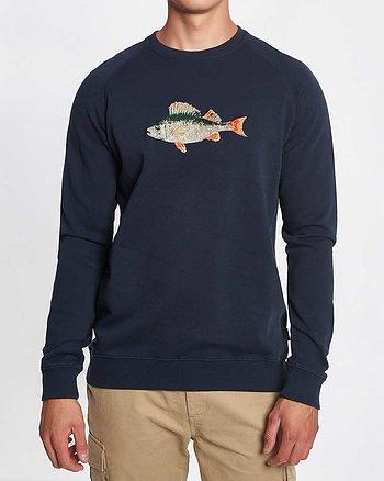 Bait Marinblå Sweatshirt
