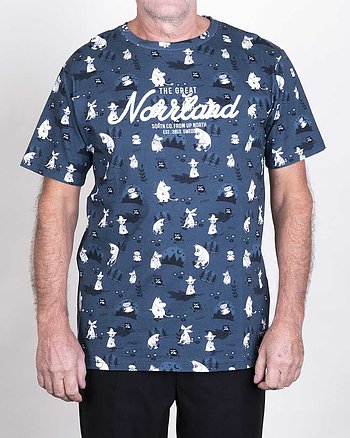Great Norrland Mumin Mörkblå T-Shirt