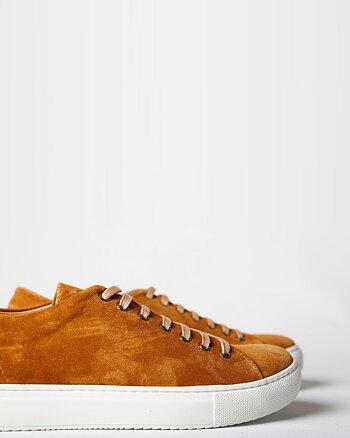 Herbert Suede Honey Bruna Sneakers