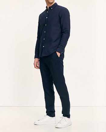 Liam BX Marinblå Skjorta