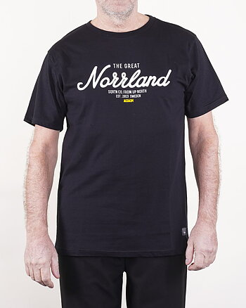 Great Norrland Mumin Svart T-Shirt