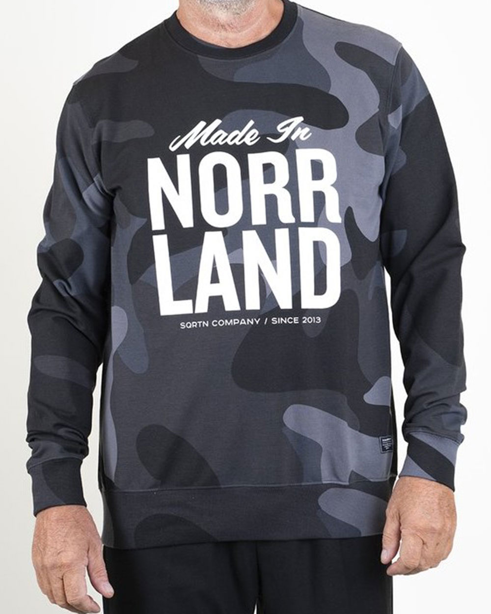Made In Norrland Black Camo Tröja