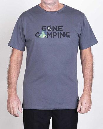 Gone Camping Mumin Grå T-Shirt