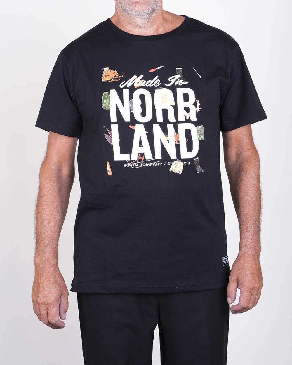 Made In Norrland Icons Svart T shirt