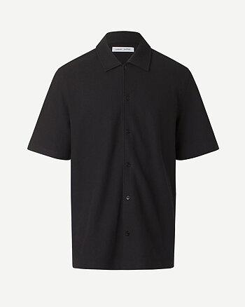 Kvistbro Svart Pikéskjorta