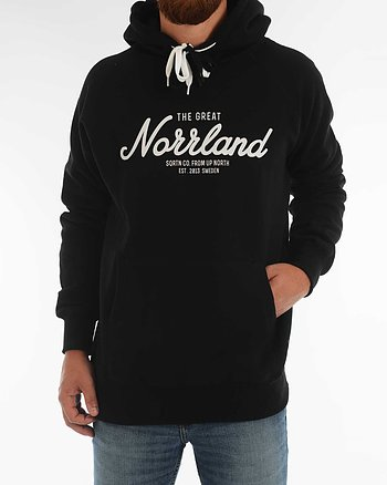 The Great Norrland Hoodie Svart Tröja