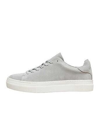 David Chunky Suede Grå Sneakers