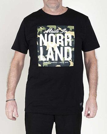 Made In Norrland Animal Camo Svart T-shirt