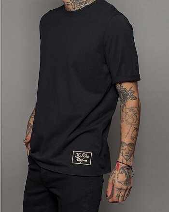 Black Label Svart T-Shirt