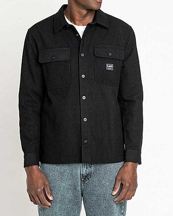 Workwear Svart Överskjorta