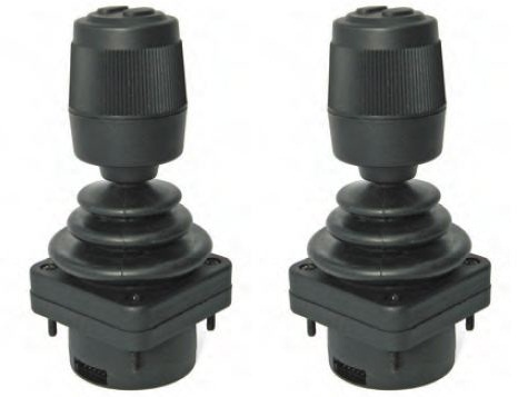Additional price HFX joystick 6 el-prop and valve EX38 8 sections