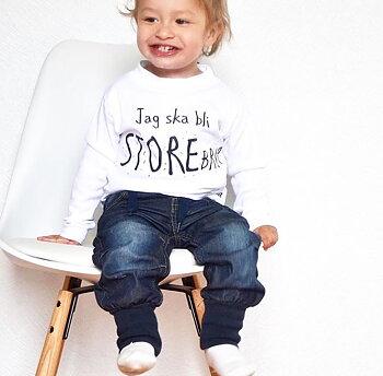 Barntröja Blivande Storebror/Storasyster!