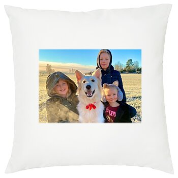 Pillowcase with own photo