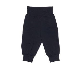 Single Colour Cotton  Baby Pants: Black