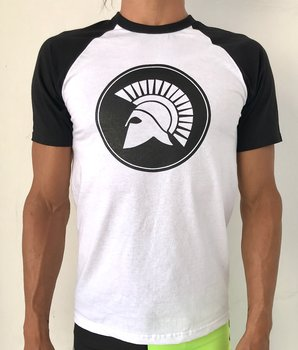 Mens raglan t-shirt/Black