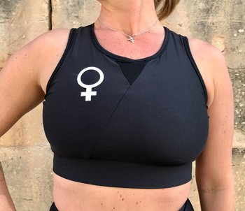 Sports bra WOMAN Black