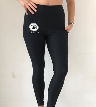 Spartan Full Leggings BASIC/Black