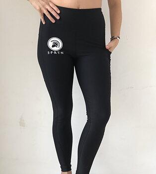 Spartan Full Leggings BASIC/Black