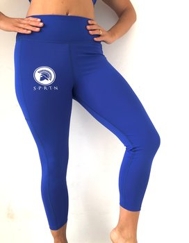 Spartan 7/8 Leggings BASIC/Blue
