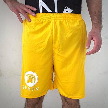 Unisex Shorts BASIC/Yellow