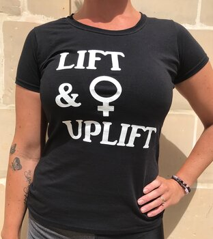 Womens T-shirt (UP)LIFT