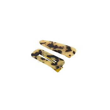 AFRA CLIP SET BROWN
