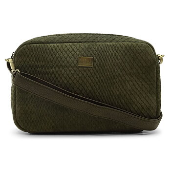 VIVA CROSS BAG IMPRESS ARMY GREEN