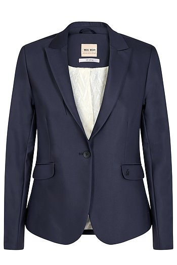 Blake Night Blazer - Navy - Mos Mosh