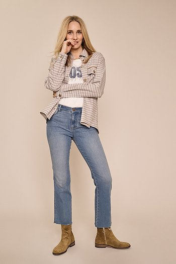 Ashley Braid Jeans - Mos Mosh