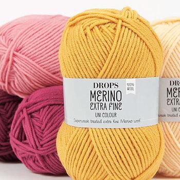 Merino Extra Fine uni colour