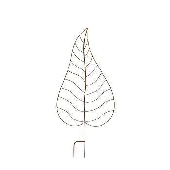 Växtstöd Löv