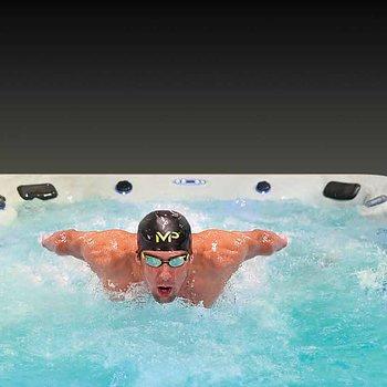 HX2 Fitness Swim Spa - Trainer 15 Deep