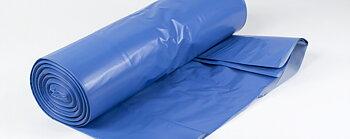 Ind.-säck X3 Blå 125L 120my