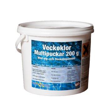 """Vecko-klor 3kg """"LYX-Puckar"""""""